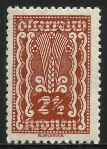 Austria 1921 Scott# 253 MH
