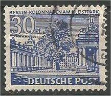 BERLIN, 1949, used 30pf Buildings Scott 9N51