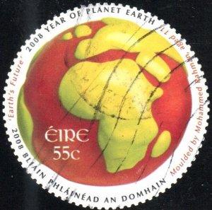 Ireland 1781 - Used - 55c Europe / Africa / Globe (2008) (cv $1.75)