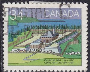 Canada 1053 USED 1985 Castle Hill, Newfoundland 34¢