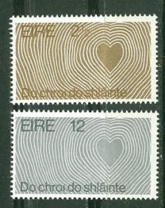 Ireland # 314-15 World Health Day   (2)  Mint NH