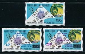 Djibouti - Lake Placid Olympic Games MNH Sports Set (1980)