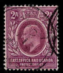 East Africa and Uganda protectorates  Scott 19a KEVII on ordinary paper