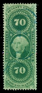 MOMEN: US STAMPS #R65c USED LOT #70569