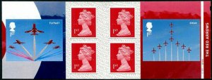 HERRICKSTAMP GREAT BRITAIN Sc.# 3714a Royal Air Force Red Arrows Retail Booklet