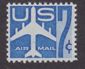 C51 Silhouette of Jet MNH Single