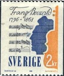 Sweden; 1968; Sc. # 774; **/MNH Single Stamp