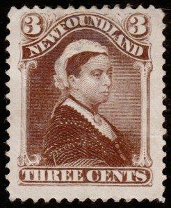 Newfoundland Scott 51 (1887) Mint NG F, CV $75.00 C