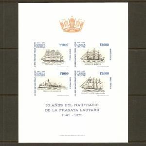Chile #472b NH Lautaro Shipwreck Anniv. SS