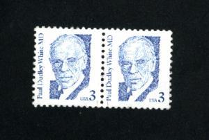 USA #2170  used pair 1986-94 PD .12