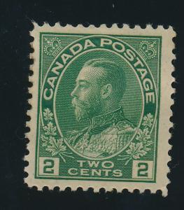 Canada Stamp Scott #107, Mint Hinged - Free U.S. Shipping, Free Worldwide Shi...