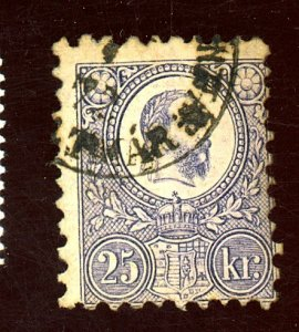 HUNGARY #12 USED AV-FIN Cat $40