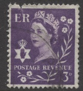 STAMP STATION PERTH Northern Ireland #1  Definitive Used 1958-67