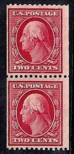U.S. 349 FVF MNH PAIR SCV$575.00 Very Fresh