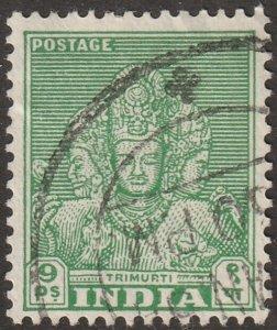 India stamp, Scott#209, used, hinged, single stamp, #209