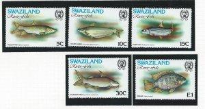 Swaziland  mnh sc. 365 - 369