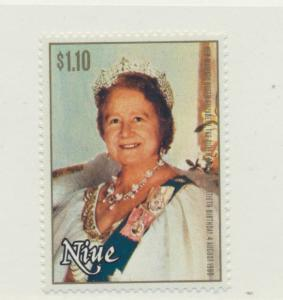 Niue Scott #291, Queen Mother Elizabeth 80th Birthday Issue Issue From 1980, ...