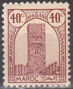 French Morocco #180 F-VF Unused (V4174)