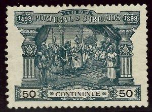 Portugal Sc J4 Mint VF thin spot SCV $50.00...nice bargain!!