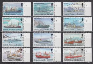 British Antarctic Territory    #202-13   mnh   cat $77.50