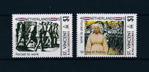 [81064] St. Vincent & Grenadines  WWII Netherlands forced to work MNH