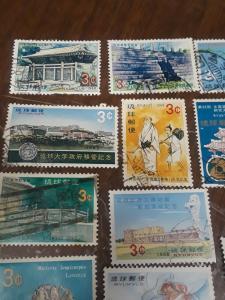 Ryukyus / Japan Stamp Group