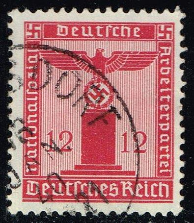 Germany #S7 Franchise Stamp; Used (1.50)