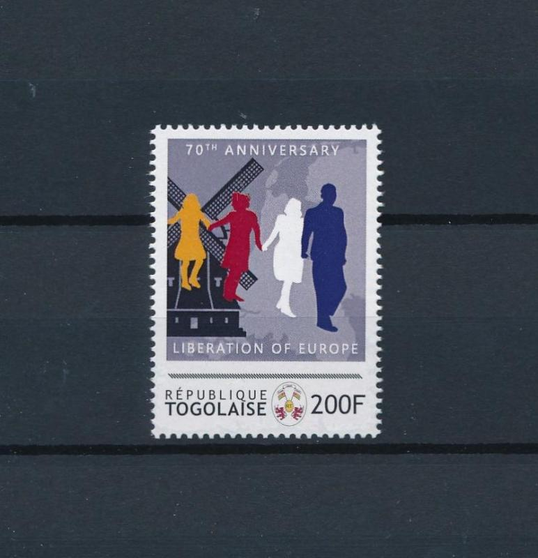 [80838] Togo  Second World war Liberation Europe Windmill MNH