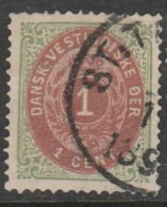 U.S. Scott #5e Danish West Indies - Cat $32.50 - Possession Stamp - Used Single