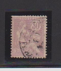 FRANCE #137 STAMP USED YEAR 1902 - LOT#F10