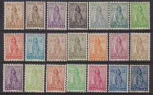 Angola 132-1946 SC 243-262 MLH Set RARE