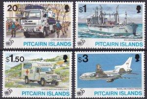 Pitcairn Islands  #436-9  MNH CV $8.15 (Z6161)