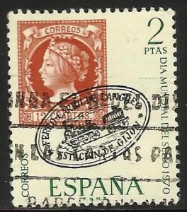 Spain 1970 Scott# 1608 Used