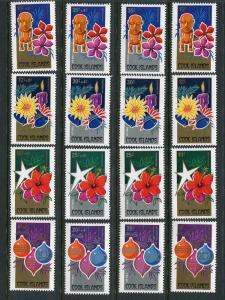 Cook Islands Scott 537-540,B76-B79,C16-C19,CB1-CB4 MNH** set