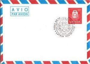 Latvia, Worldwide Postal Stationary