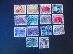 Austria #326-39 (329 Mint H) Used- (Z5) I Combine Shipping!