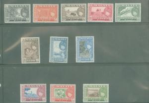 Malaya Kedah 83-93 Mint VF LH