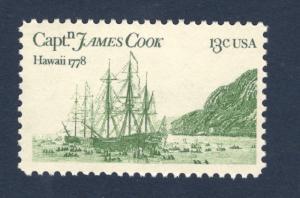 1733 Captain James Cook (Hawaii) Mint/nh Free Shipping