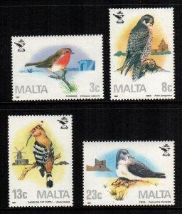 Malta  690 - 693  MNH $ 9.00