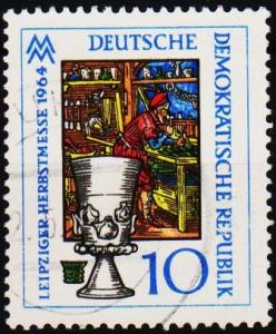Germany(DDR). 1964 10pf S.G.E773 Fine Used