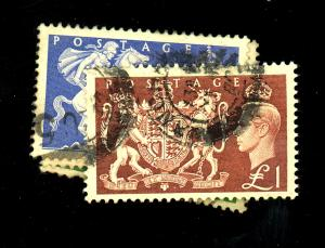 Great Britain# 286-89 Used F-VF Cat $31