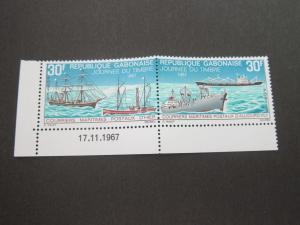 Gabon 1967 Sc 222a MNH