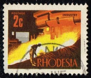 Rhodesia #276 Blast Furnace; Used (0.25) (1Stars)