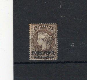 St Helena 1890 4d FU CDS