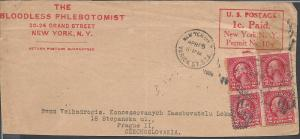 # 583(4) on Cover Front, c/c The Bloodless Phlebotomist 2...