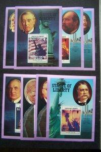 British Virgin Islands 1986 MNH The 100th Anniversary of Statue of Liberty