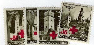 Poland SC NB1-NB4 MNH F-VF. SCV$15.00..Key Value!