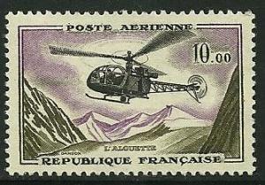 France # C40, Mint Never Hinge. CV $ 10.00