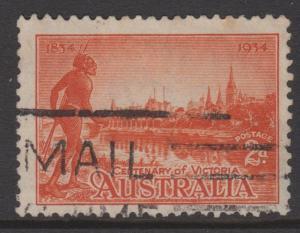 Australia Sc#142a Used
