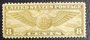 US #C17 MH F/VF - 8c Airmail 1932 [US42.6.1]